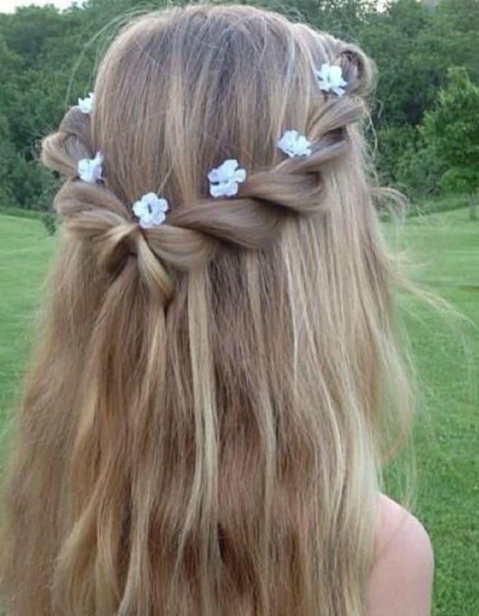 peinados niña primera comunion 2016