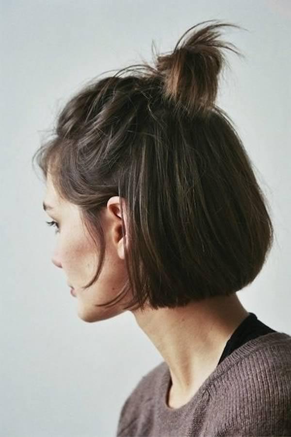 Formas de recoger el pelo corto
