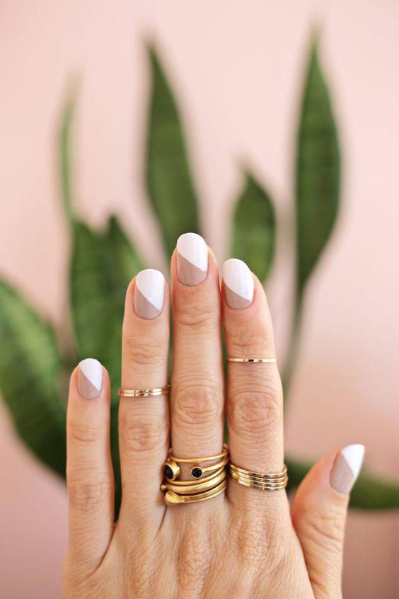 20 Ideas de uñas minimalistas