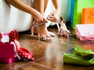 Para que quiero un novio si me puedo comprar unos zapatos