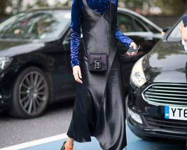 Ideas para combinar bien cualquier vestido negro