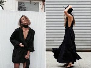 Porque sone con una mujer vestida de negro