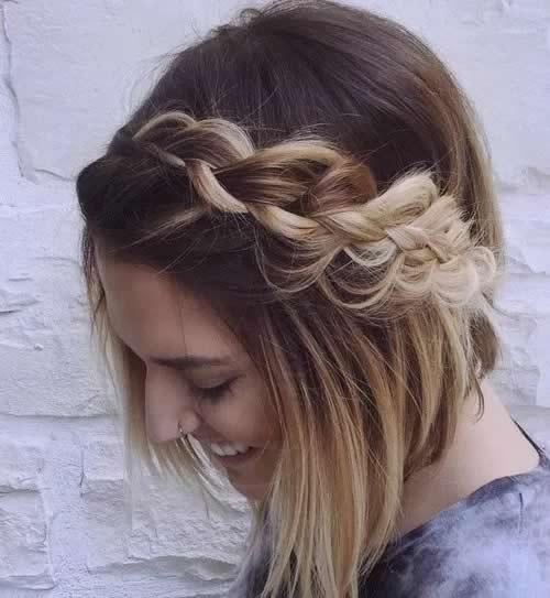 12 peinados con trenzas f ciles y bonitos moda y estilo - Peinados y trenzas ...