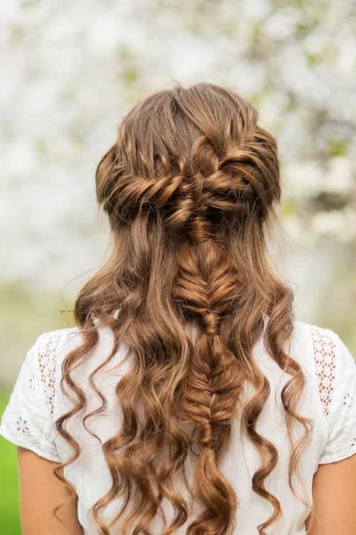12 Peinados Con Trenzas Faciles Y Bonitos Moda Y Estilo - Peinados-con-tranzas