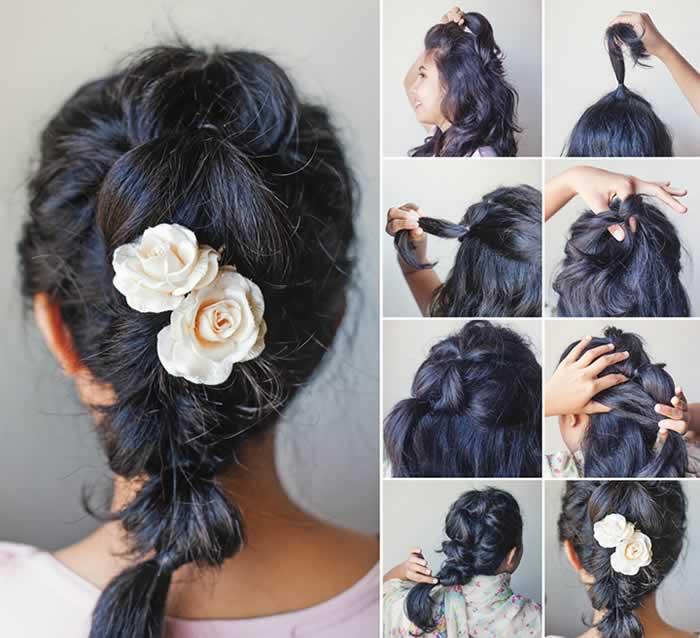 Ideas fáciles para peinados con trenzas