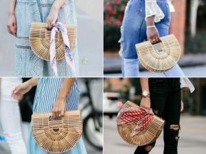 El bolso de bambú, el must have de la temporada