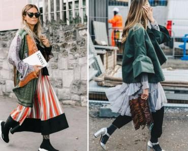 Superposiciones, el truco de estilismo para llevar en invierno