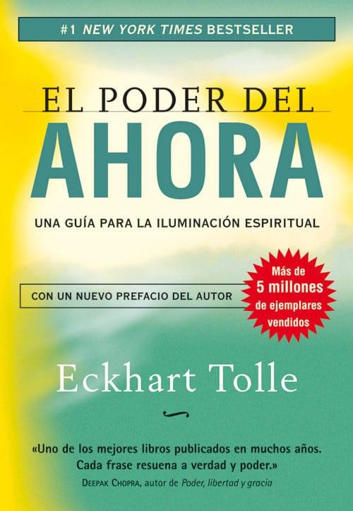 Libros de autoayuda: el poder del ahora de Eckhart Tolle
