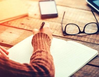escribir en un diario aumenta tu productividad