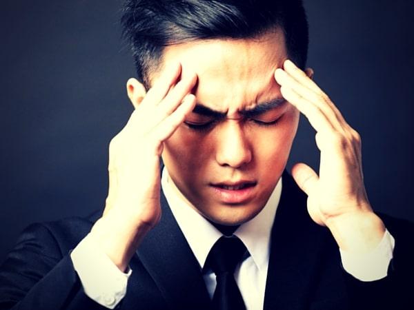 cansancio, estrés, confusión