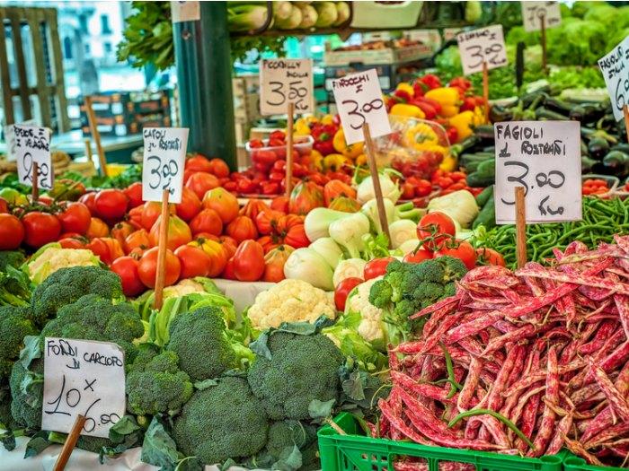 compras en marshfield verduras