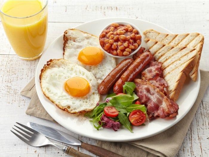 los desayunos de la granja rural