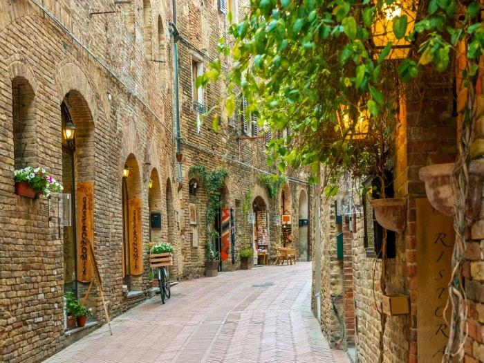 Casas rurales en la toscana italiana