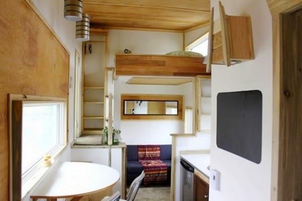 La casa rural ecol gica y con ruedas ideal hecha en Apartamentos con altillo