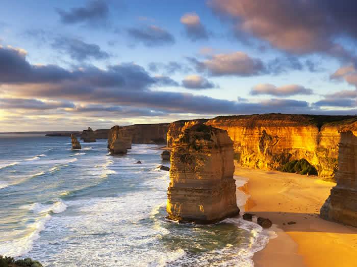 Acantilado Twelve Apostles Australia