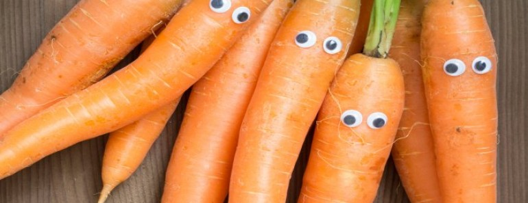 germinar zanahoria sin semilla ojos