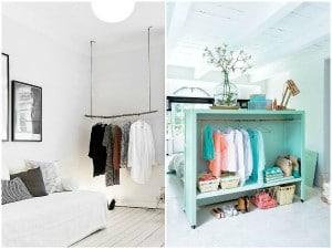 Ideas para crearte un armario a la vista (y organizado)