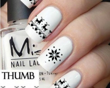 Nail Art: 19 Estilos diferentes de uñas para las amantes de la Navidad