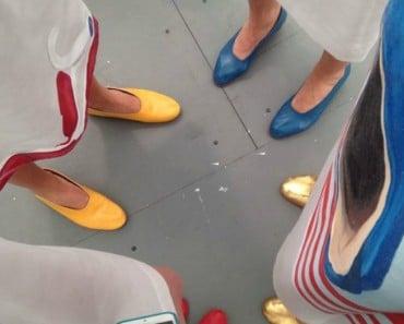 Ir arreglada sin zapatos de tacón... Yes, we can!!