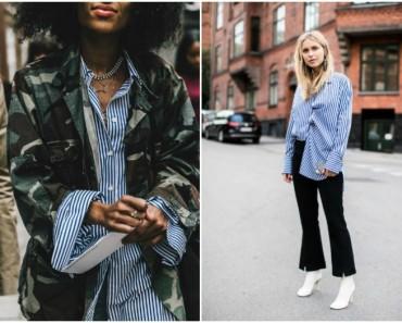 Más de 30 ideas para vestir una camisa de rayas (e ir perfecta siempre)