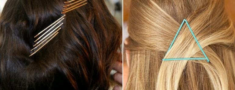 Alerta tendencia: hazte un peinado con horquillas y ¡que se vean!