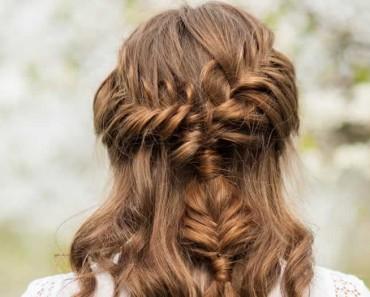 12 peinados con trenzas fáciles y bonitos