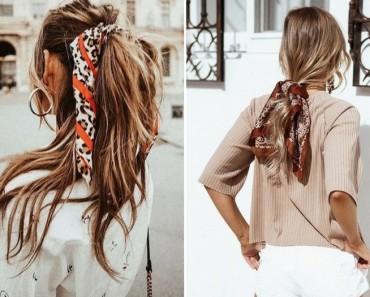 El pañuelo, el nuevo accesorio para tu pelo