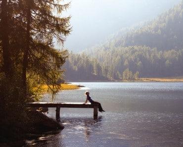 Respirar aire puro en un bosque obra milagros