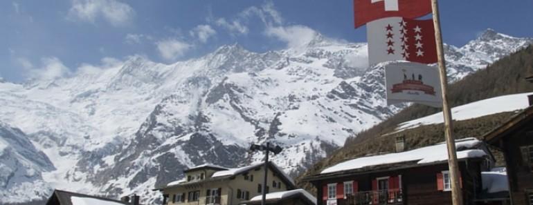 Saas-Fee, esqui y montaña