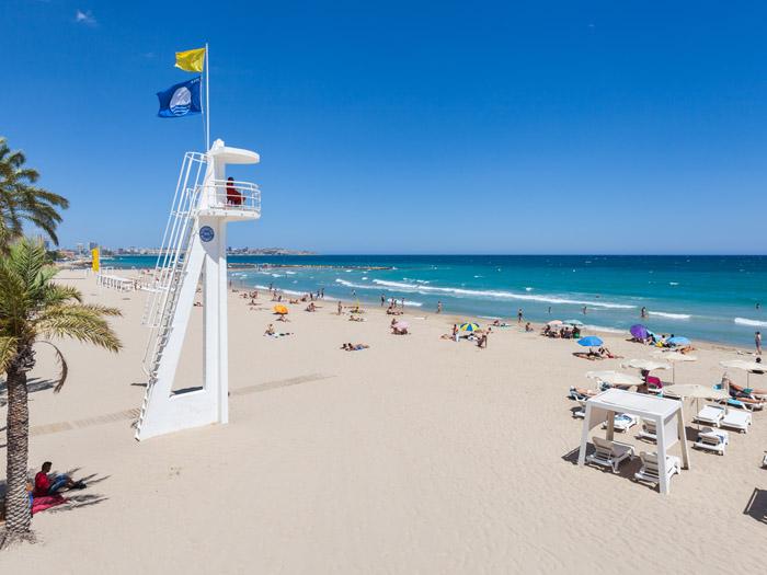 Postiguet Beach Alicante