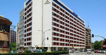 Melia hotel Zaragoza