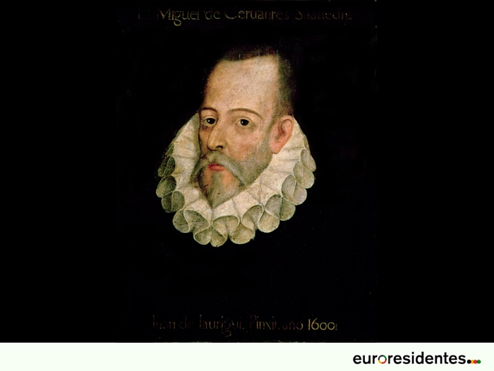 Cervantes: Retrato atribuido a Juan de Jáuregui