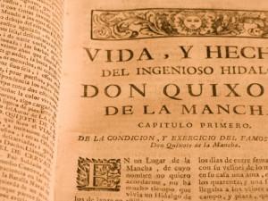Miguel de Cervantes. Obras literarias