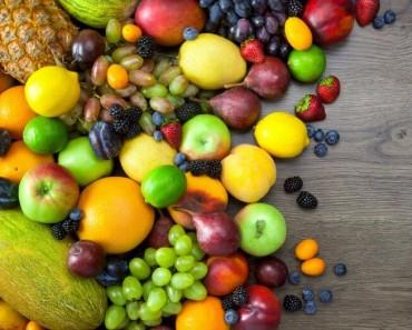 Pronunciación de las frutas en inglés