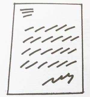 Estudio de la inclinación las Líneas imbricadas ascendentes