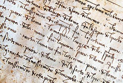 Manuscrito de Leonardo Da Vinci