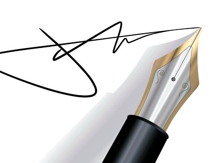 Firmas: diferencia entre firma y texto