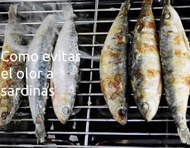 consejos para evitar el olor a sardinas