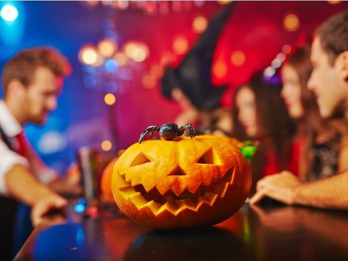 preparar una calabaza de halloween fiesta