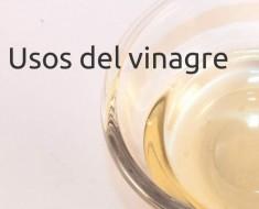 Usos del vinagre