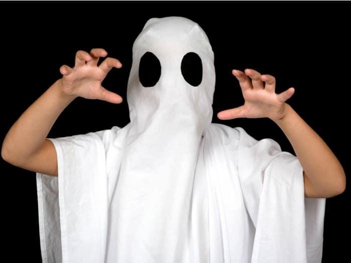 disfraces caseros para halloween fantasma