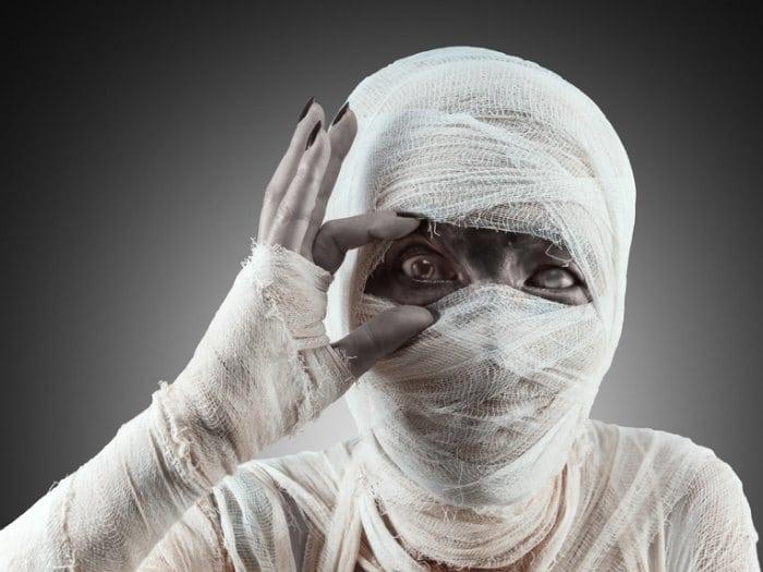 disfraces caseros para halloween momia