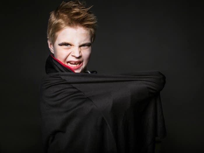disfraces caseros para halloween vampiro