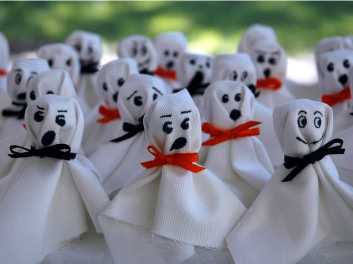 10 ideas para halloween fantasmas