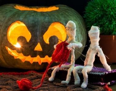 10 ideas para halloween momias