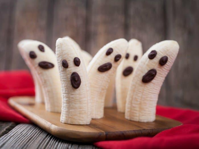 10 ideas para halloween platanos