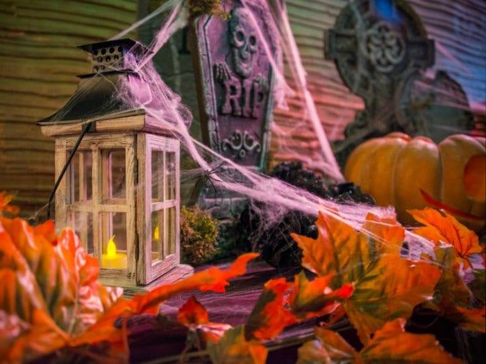 10 ideas para halloween telarañas