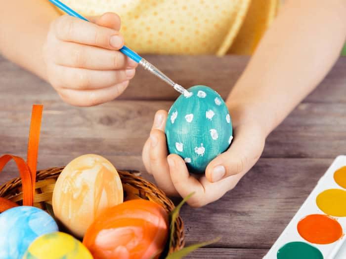 como pintar huevos de pascua trucos y consejos