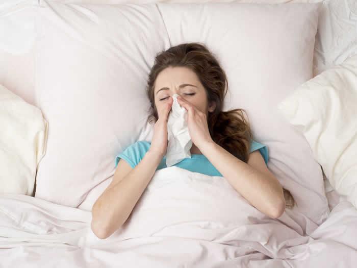 Alergia noche como aliviarla