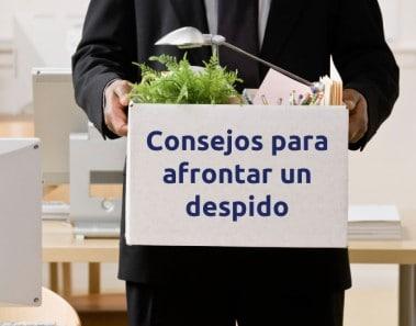 Consejos para afrontar un despido